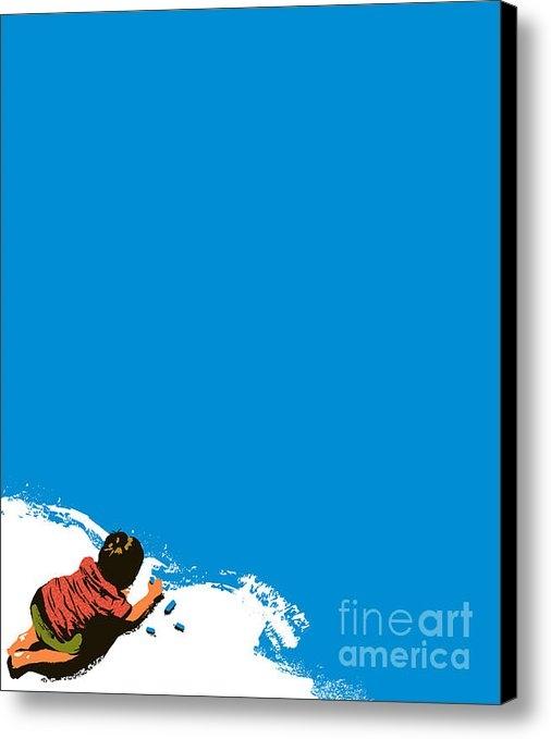 Budi Satria Kwan - Paint it blue Print