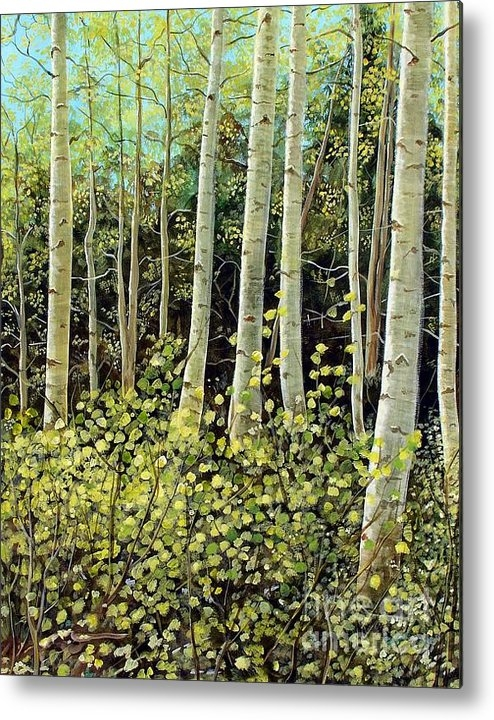 Lonnie Massotty - In the Aspens Print
