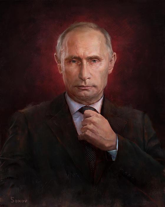 Pavel Sokov - Putin Time Man of the Yea... Print