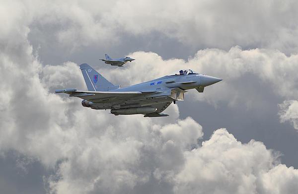 Pat Speirs - RAF Typhoons Print