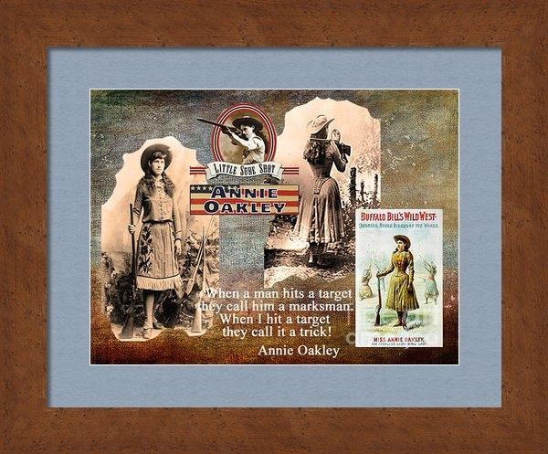 Maureen Tillman - Annie Oakley Print