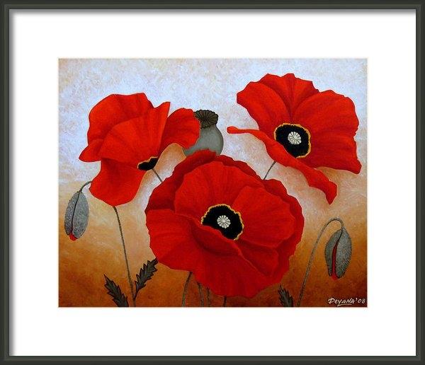 Deyana Deco - Poppies Ii Print