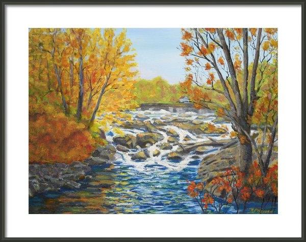 Robert P Hedden - Indian River Rapids Phila... Print