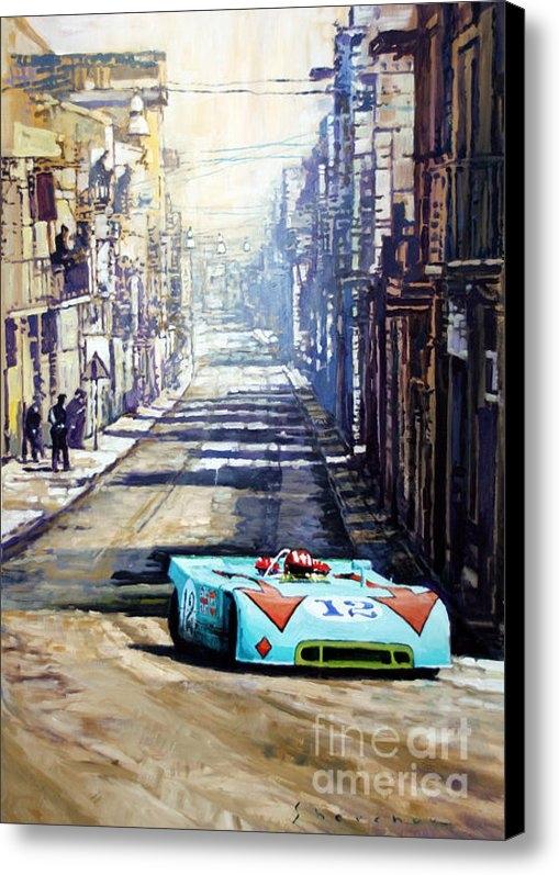 Yuriy Shevchuk - Targa Florio 1970  Porsch... Print