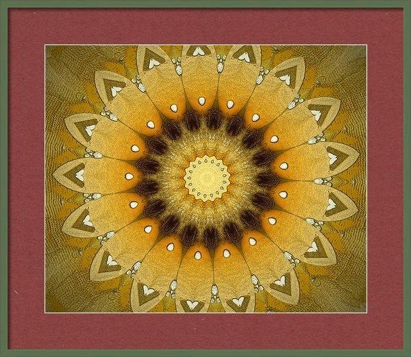 Wim Lanclus - Sun Kaleidoscope Print