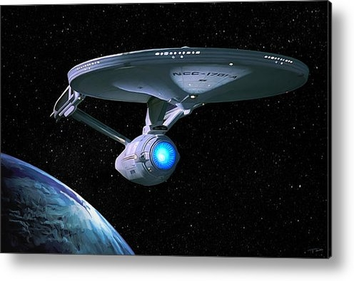 Paul Tagliamonte - USS Enterprise Print