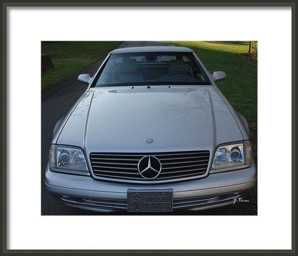 James C Thomas - 1999 Mercedes SL500 Print