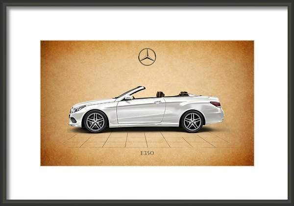 Mark Rogan - Mercedes-Benz E350 Print