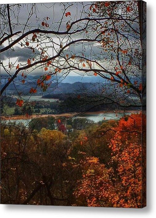 Elizabeth L Minix - Autumn Ridge Print