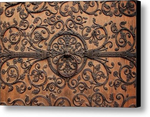 Andrew Fare - Notre Dame Door Print