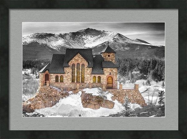 James BO  Insogna - Chapel on the Rock BWSC Print