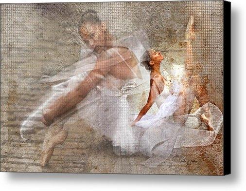 Lynda Payton - Black Ballerina Print