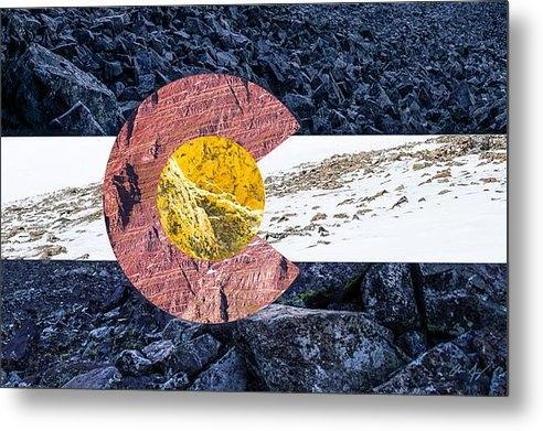 Aaron Spong - Colorado State Flag with ... Print