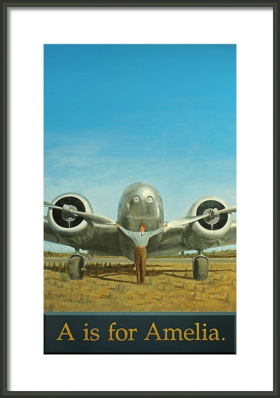 Laurie Stewart - A is for Amelia Print