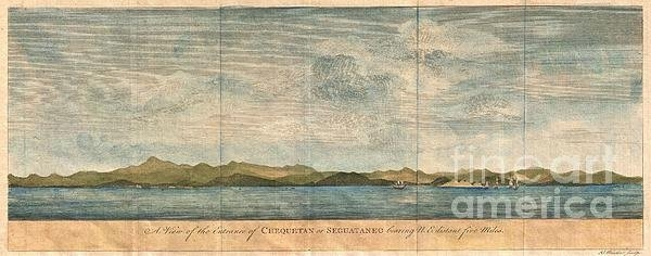 Paul Fearn - 1748 Anson View of Zihuat... Print
