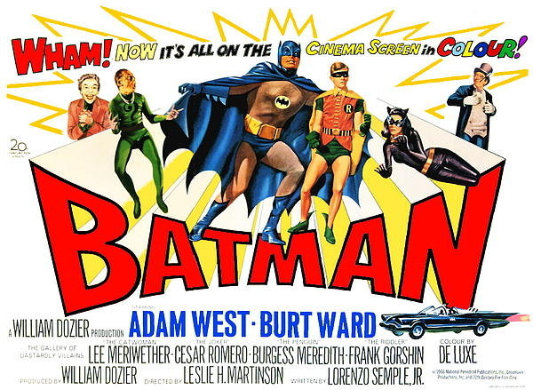 Paul Van Scott - Restored Color 1966 Batma... Print