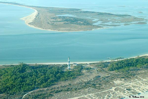 Dan Williams - Cape Lookout Lighthouse f... Print