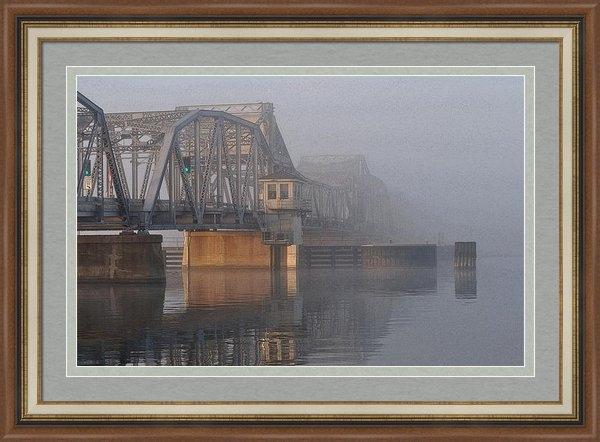 Octane Creative - Steel Bridge in Fog Print