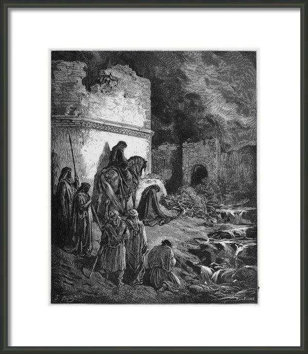 Oprea Nicolae - Nehemiah views the ruins ... Print