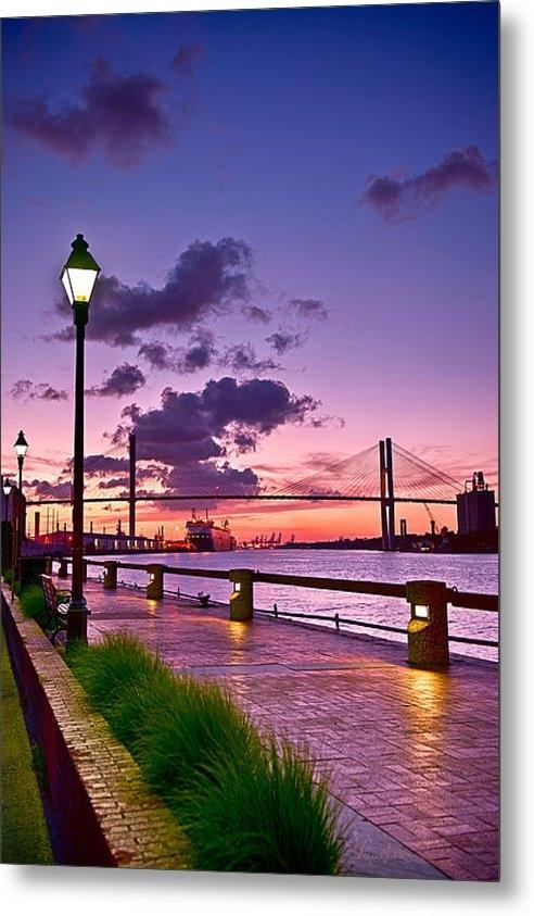 Renee Sullivan - Savannah River Bridge Print