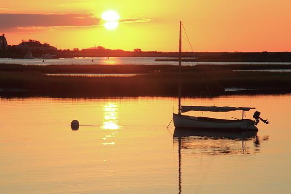 Roupen  Baker - Sunrise at Bass River Print