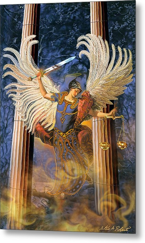 Steve Roberts - Archangel Raguel Print