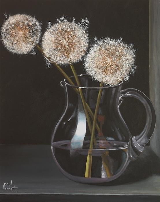 Paul Bennett - Dandelions Print