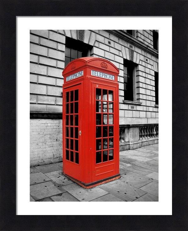 Rhianna Wurman - London Phone Booth Print