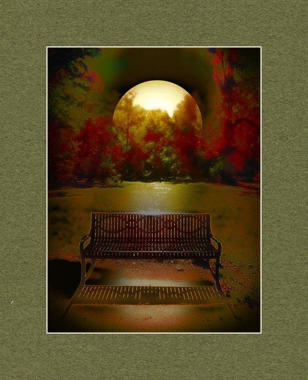 John Anderson - October Moon Print