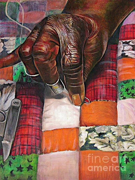 Curtis James - Quilting II Print