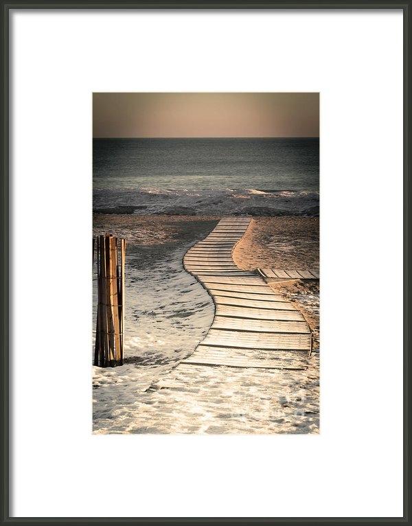 Steve Sturgill - 0160 Evanston Boardwalk Print