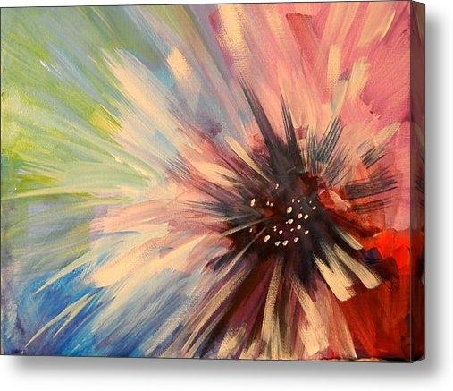 Karen A Mesaros - Abstract Flower Print