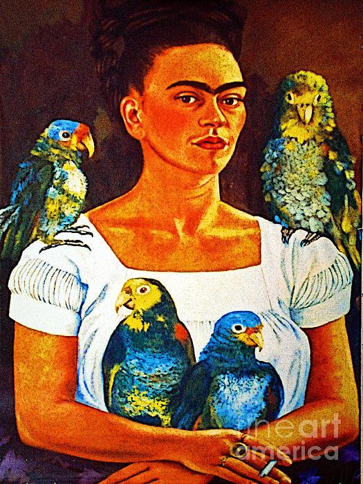 Olden Mexico - Frida in Tlaquepaque Print