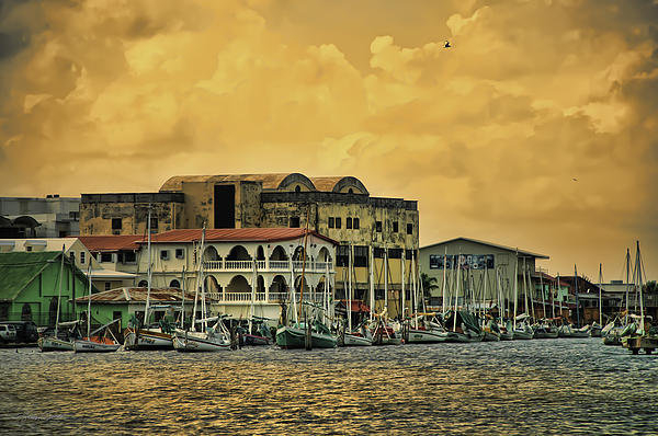 Stacey Sather - Belize City Harbor Print