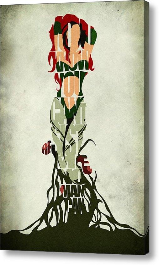 Ayse Deniz - Poison Ivy Print