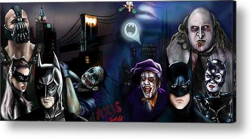 Vinny John Usuriello - Nolan Batman VS Burton Ba... Print