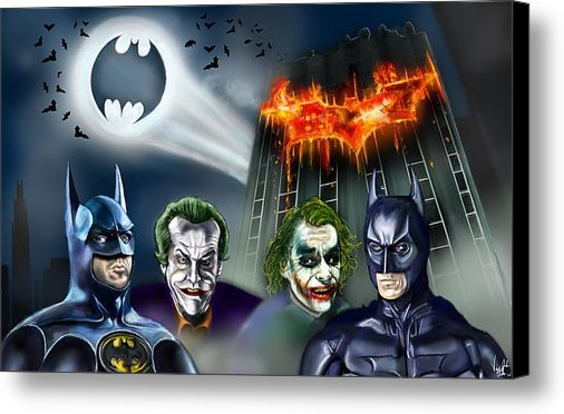 Vinny John Usuriello - Batman 89 vs The Dark Kni... Print