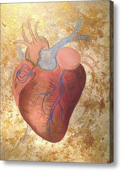 Eliene  Nunes - Glorious Heart Print