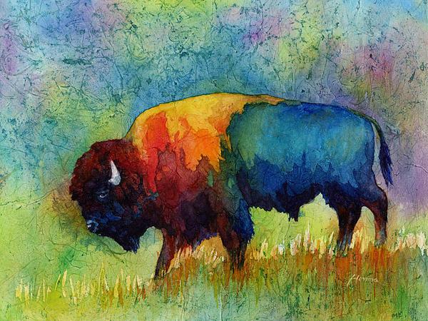 Hailey E Herrera - American Buffalo III Print