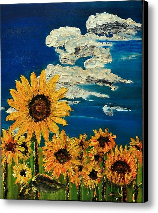 Michael Mccullough - Sunflowers Print