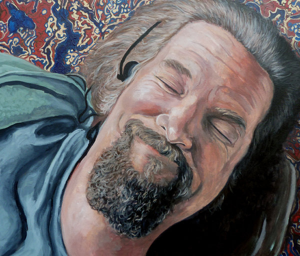Tom Roderick - The Dude Print