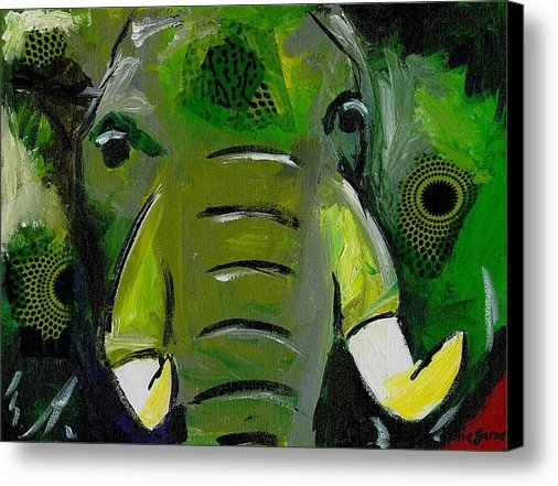 Katie Sasser - The Green Elephant in the... Print