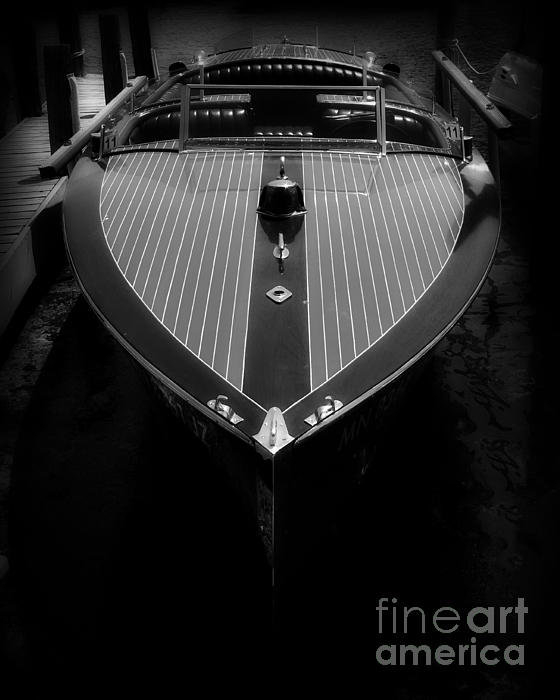 Perry Webster - Classic Wooden Boat 2 Print