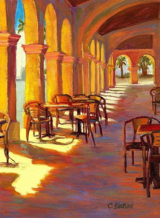 Claire Bistline - Afternoon Light in Ajo AZ Print