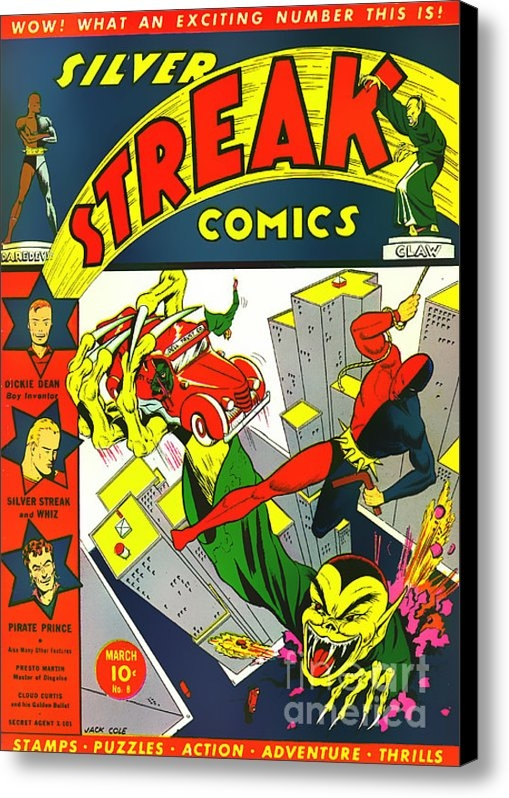 Wingsdomain Art and Photography - Classic Comic Book Cover ... Print