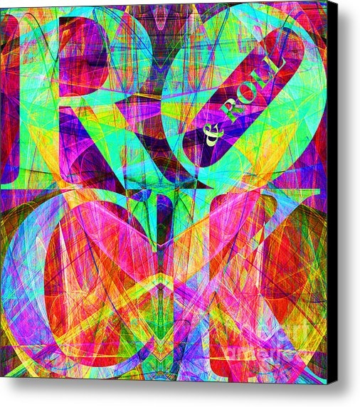 Wingsdomain Art and Photography - Rock And Roll 20130708 Fr... Print