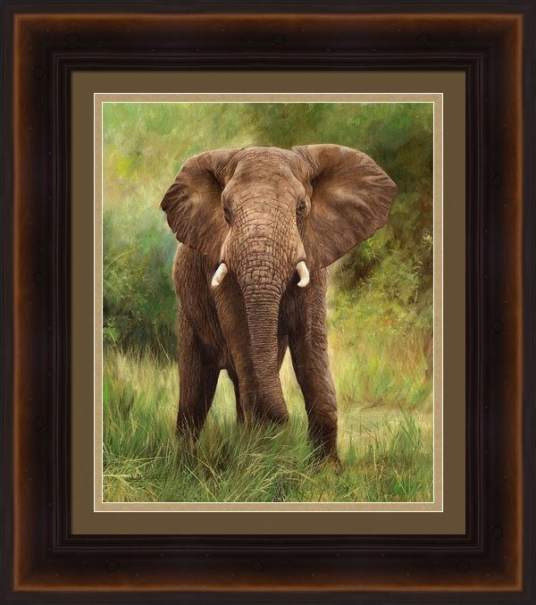 David Stribbling - African Elephant Print