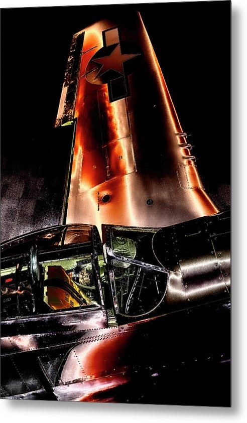 David Patterson - North American P-51D Must... Print