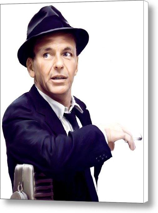 Iconic Images Art Gallery David Pucciarelli - Sinatra   Frank  Sinatra Print