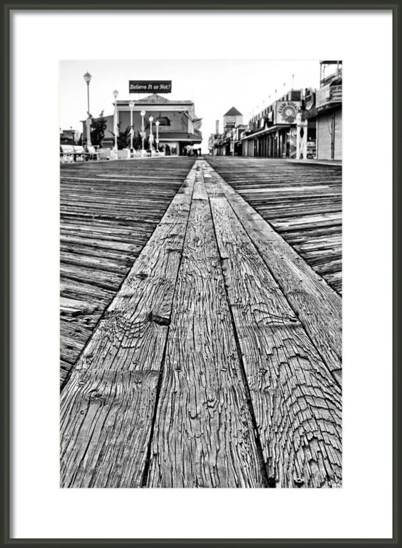 JC Findley - The Ocean City Boardwalk Print